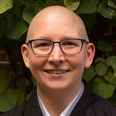 Zen teacher Allison Tait
